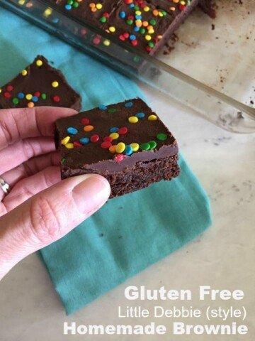Gluten Free Little Debbie Brownie Recipe