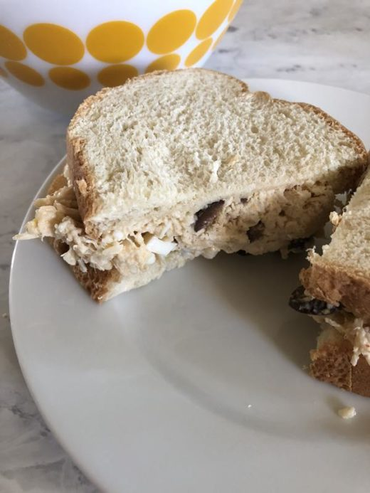Italian Chicken Salad Sandwich