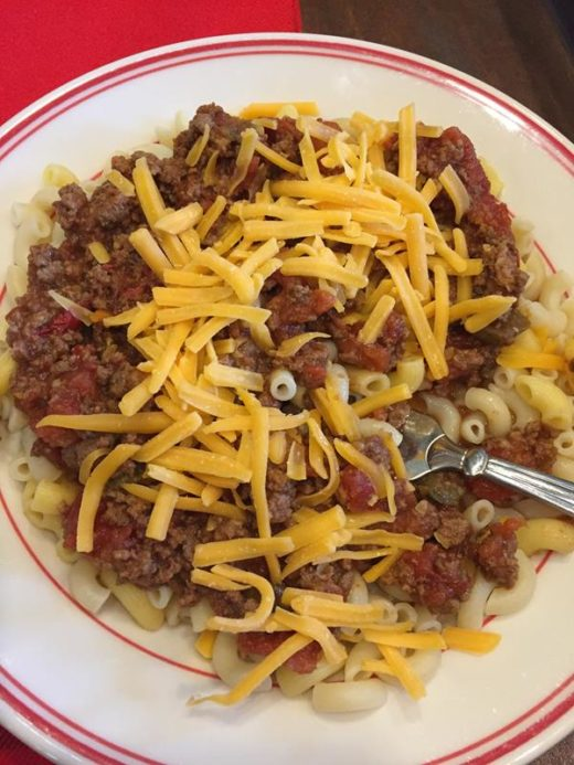 Chili Cheese Pasta