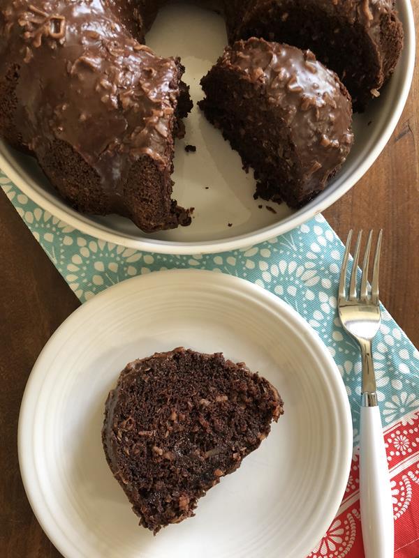 Gluten Free Dairy Free Chocolate Coconut Cake