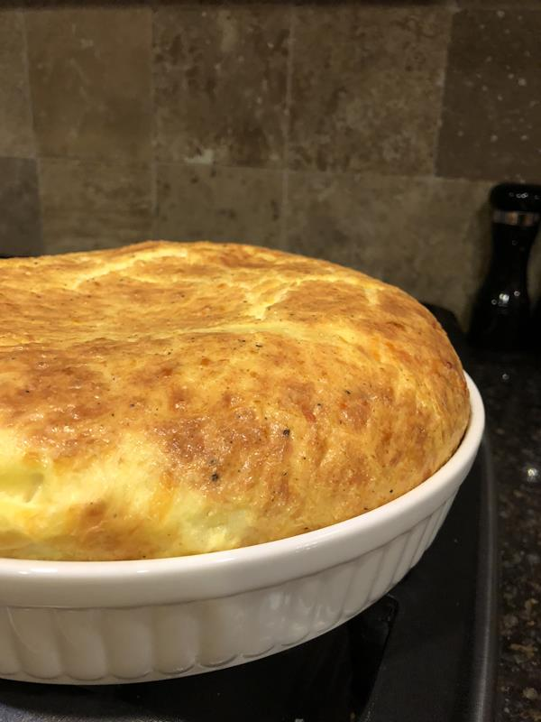 Crustless Cheese Quiche