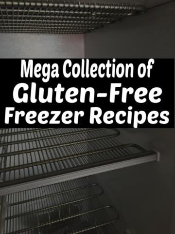 Mega Collection Gluten Free Freezer Recipes