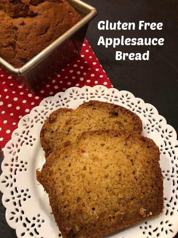 Gluten Free Applesauce Bread