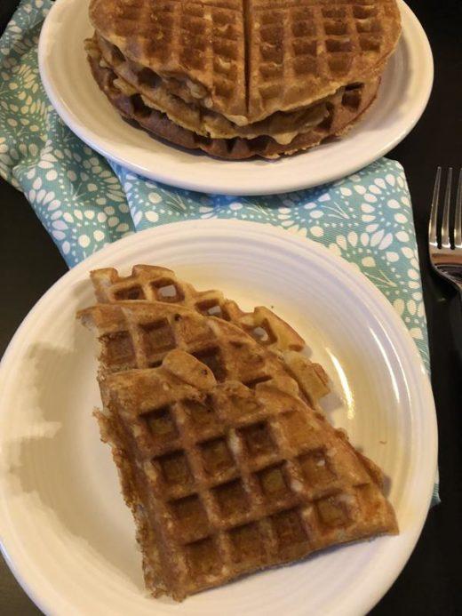 Mom's Overnight Waffles