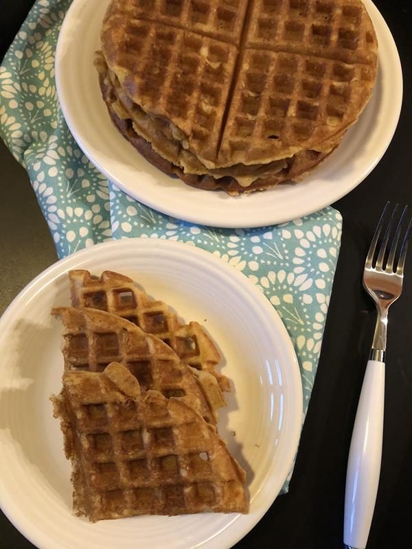 Mom's Overnight Waffles