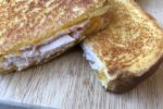 BBQ Chicken Grilled Cheese Sandwich