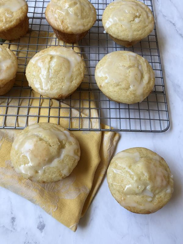 Gluten Free Lemon Yogurt Muffins
