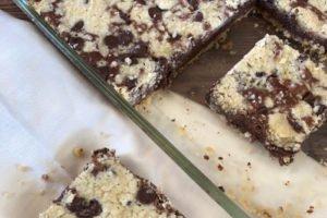 Chocolate Crumb Bars