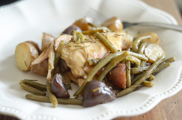 Slow Cooker Rosemary Chicken - Mommy Hates Cooking