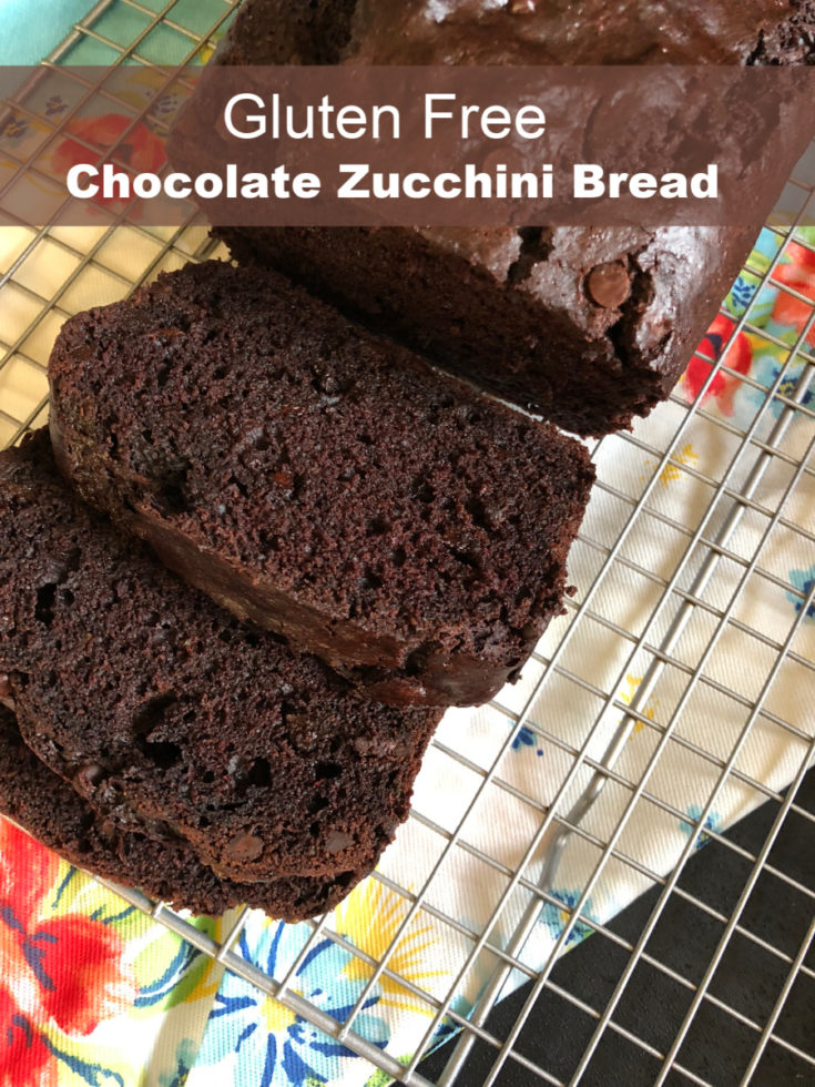 Gluten Free Chocolate Zucchini Bread
