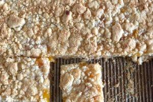 Gluten Free Peach Pie Bars