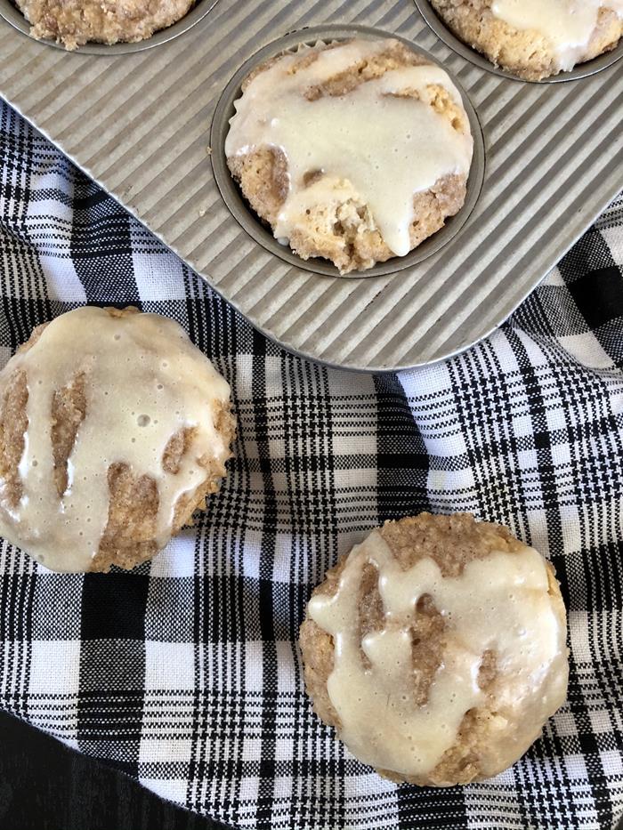 Gluten Free Eggnog Muffin Recipe