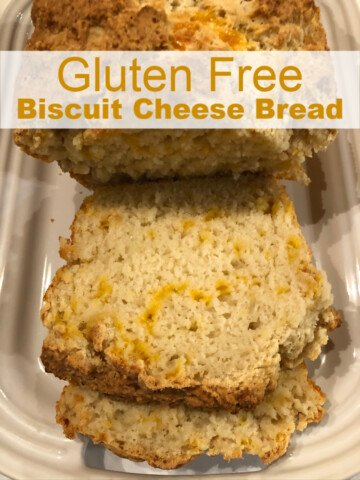 Gluten Free Biscuit Bread with Cheese