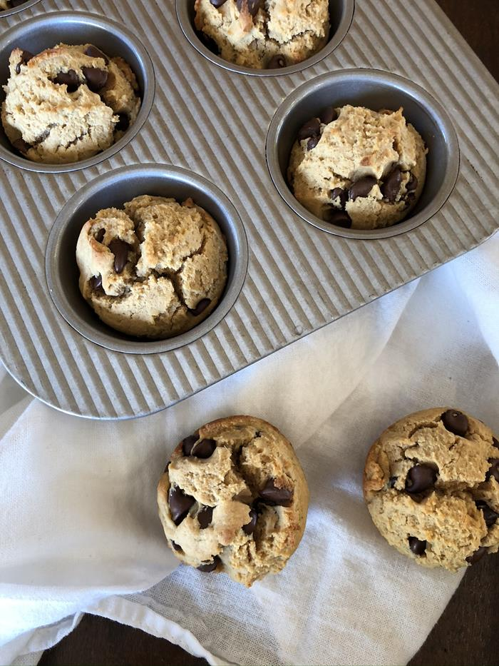 Peanut Butter Muffin Recipe with gluten free option