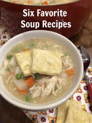 Six Soup Recipes