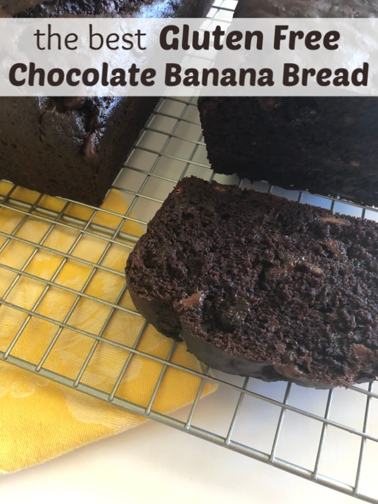 Gluten Free Chocolate Banana Bread