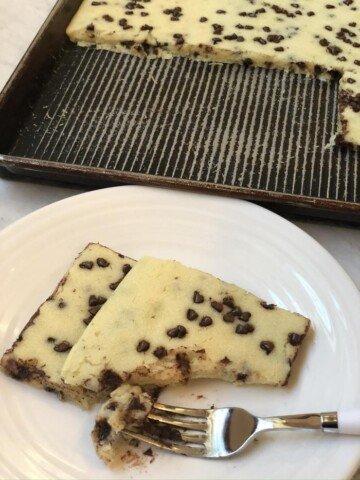 Chocolate Chip Sheet Pan Pancakes
