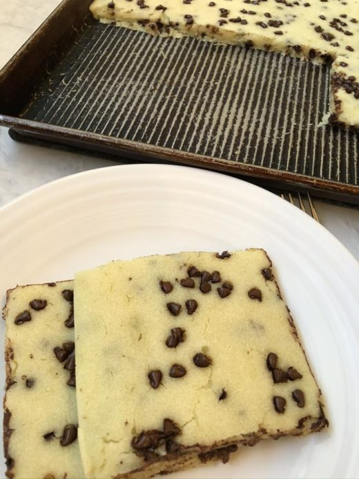 Chocolate Chip Sheet Pan Pancakes Recipe