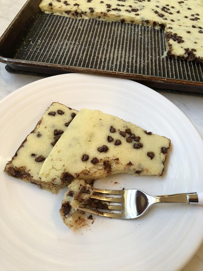 Chocolate Chip Sheet Pan Pancakes Recipe
