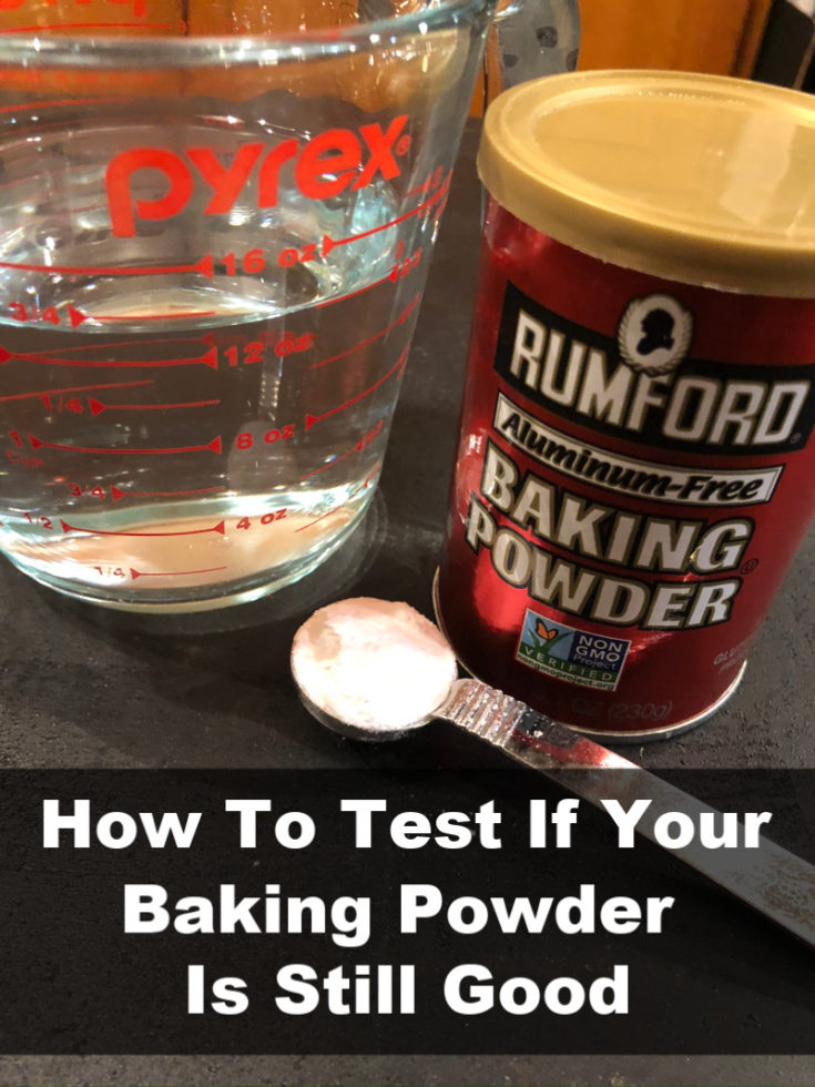 How To Test If Baking Powder Is Still Good