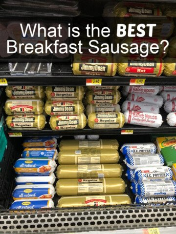 What is the Best Breakfast Sausage