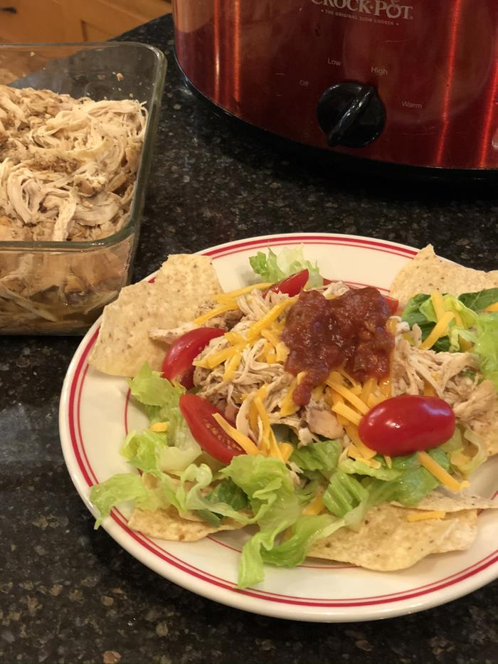 Crock Pot-Mexican Chicken