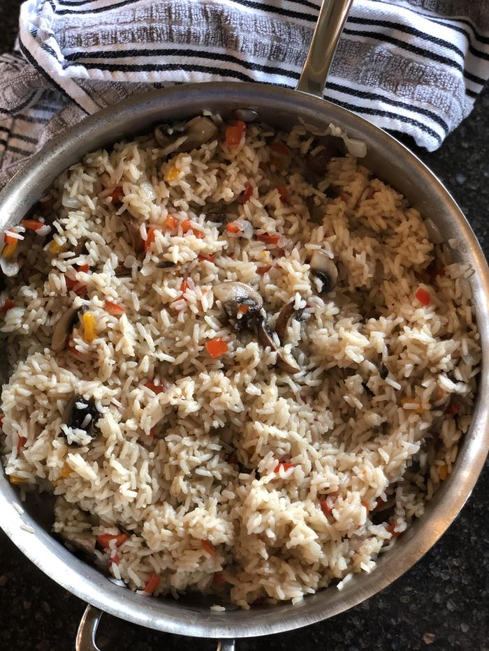 Buttered Rice with Vegetables