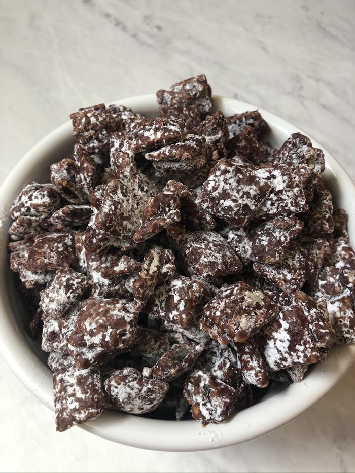 Chocolate Raspberry Chex Mix Recipe