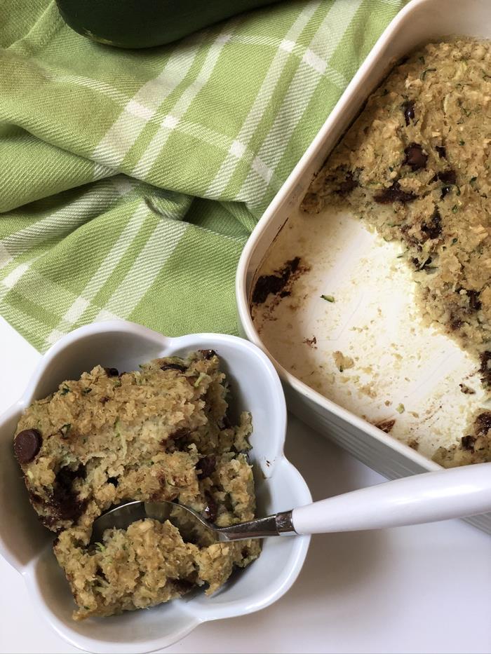 Zucchini Baked Oatmeal Recipe