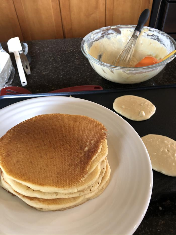 Peanut Butter Pancake Recipe