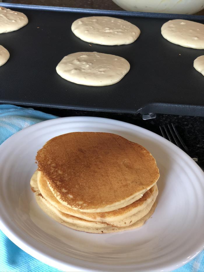 Peanut-Butter Pancakes