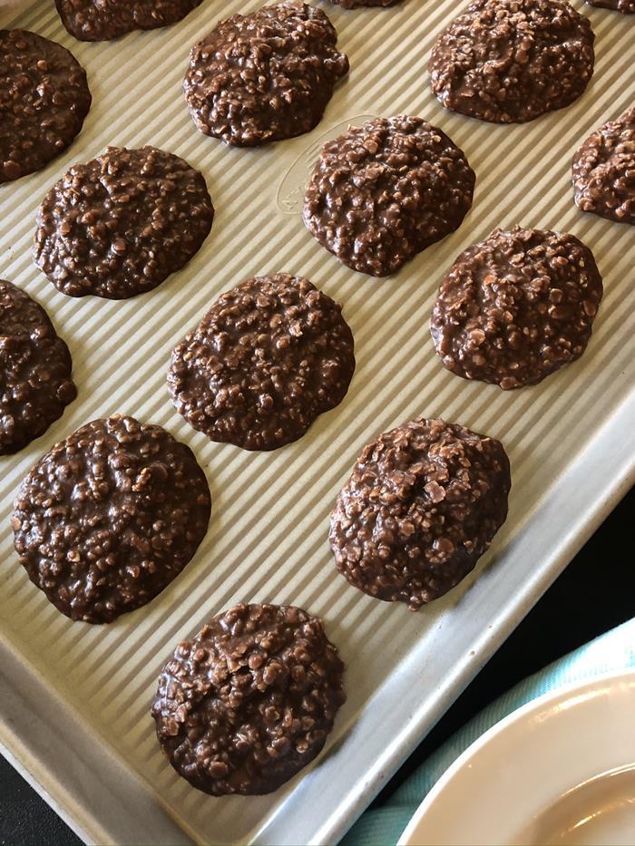 Microwave No Bake Cookies Recipe