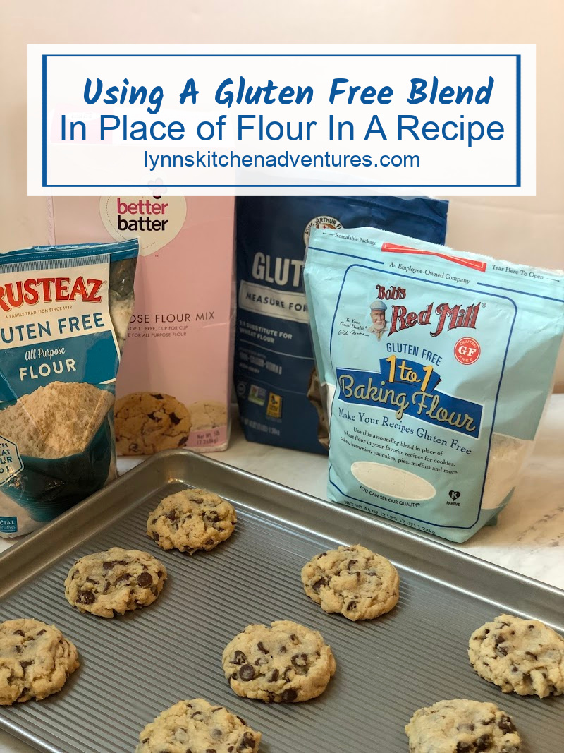 Using A Glute Free Blend In Place of Flour
