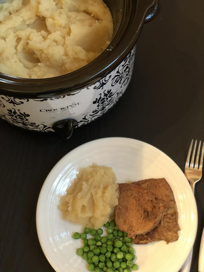Slow Cooker Mashed Potatoes Dairy Free