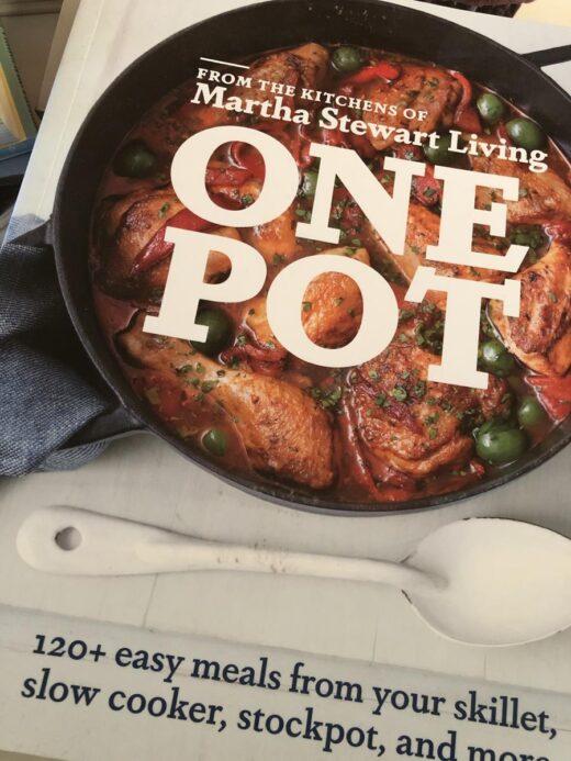Martha Stewart One Pot Cookbook