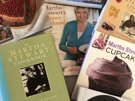 Martha Stewart Cookbooks