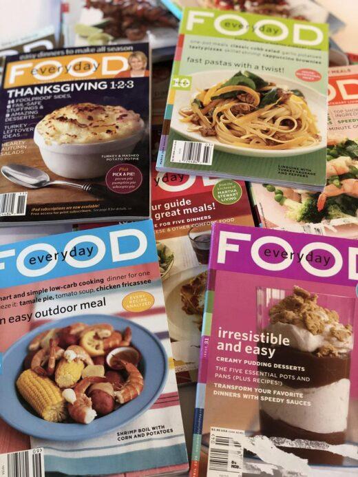 Martha Stewart Everyday Food Magazine