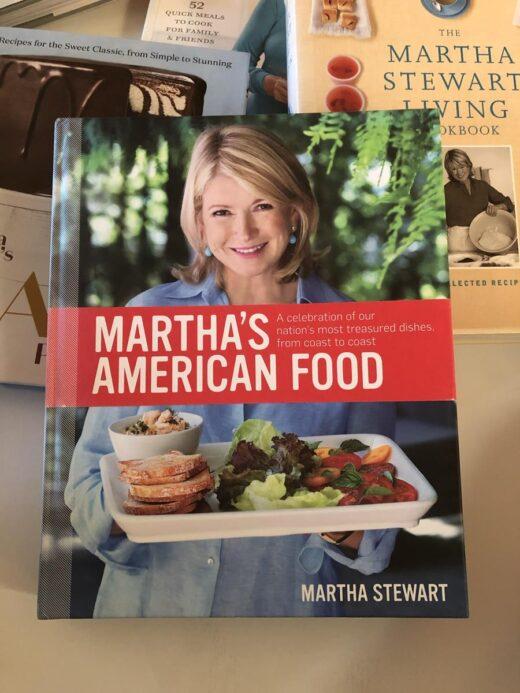 Martha Stewart's American Food Cookbook