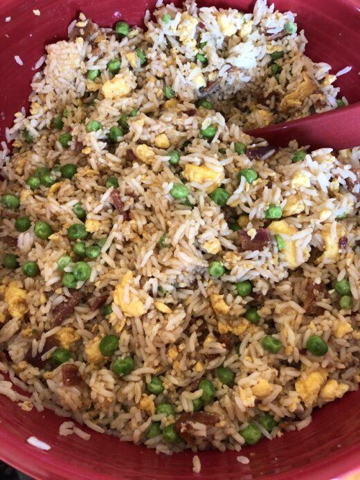 Freezer Fried Rice Recipe