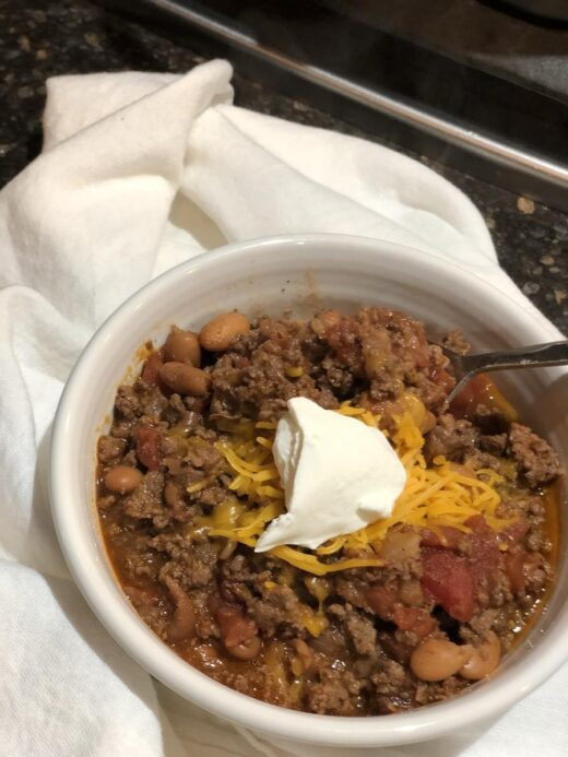 Martha Stewart's- Chili Recipe