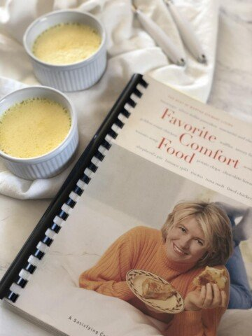 Martha Stewart's Vanilla Custard and Comfort Food Cookbook