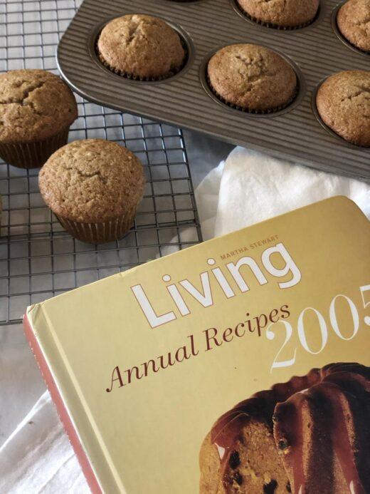 Martha Stewart Applesauce Muffins Living Cookbook