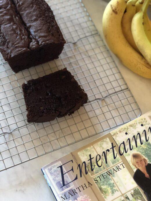 Martha Stewart's Chocolate Banana Bread Chocolate