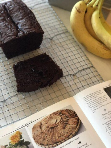 Martha Stewart's Chocolate Banana Bread and Cookbook