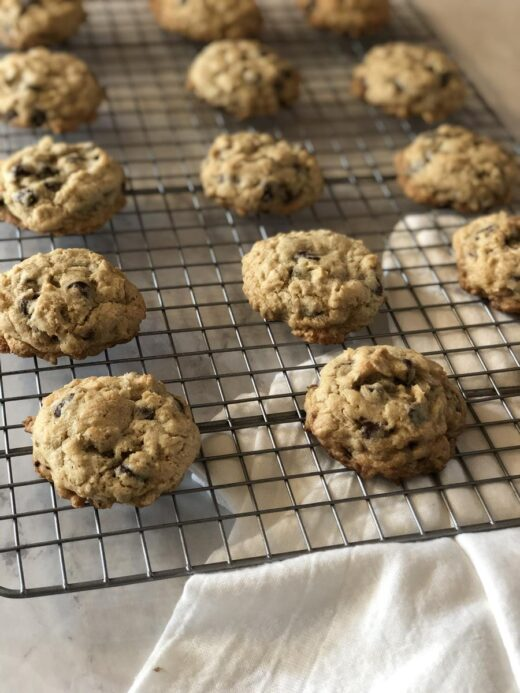 Martha Stewart's Chocolate Oatmeal Cookies with Gluten Free Option