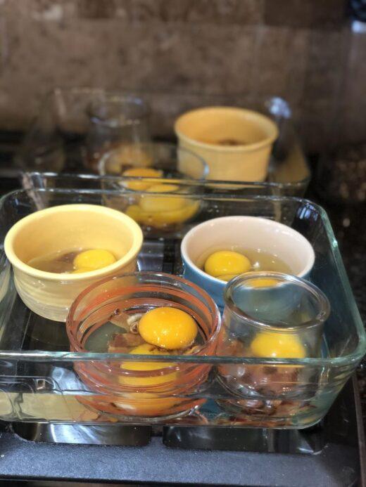 Martha Stewart's Baked Eggs How To