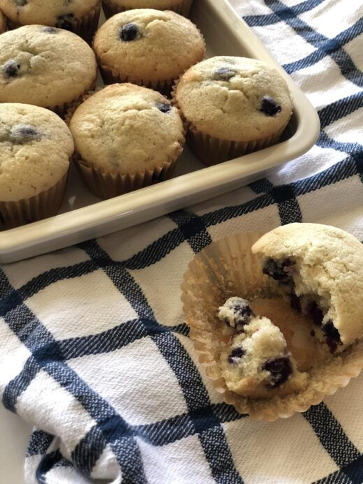 Martha Stewart Blueberry Muffins