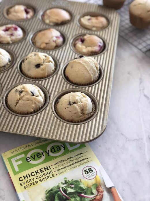 Martha Stewart's Better Than Basic Muffin Recipe