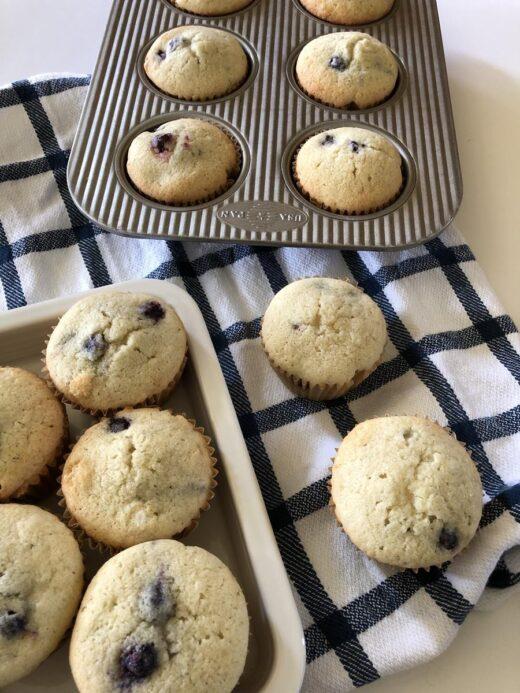 Martha Stewart's Blueberry Muffins Recipe
