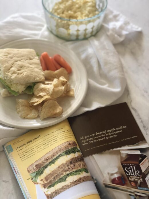 Martha Stewart's Egg Salad Sandwich